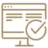 Website QA (Quality Assurance), SEO, and Analytics Measurements Icon